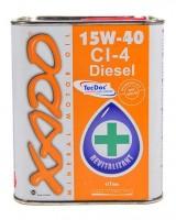 XADO Atomic Oil 15W-40 CI-4 Diesel (ж/б 1 л)