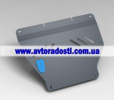 Защита картера двигателя для Hyundai Accent (Solaris) '11- (2мм) 1,4/1,6 бензин МКПП/АКПП (Novline)