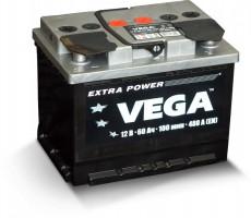Автомобильный аккумулятор VEGA 6CT-60A EURO