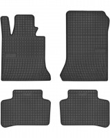 Коврики в салон для Mercedes GLK-Class X204 '09- резиновые, черные (Frogum)