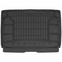 Коврик в багажник для Citroen C3 Aircross '17-, верхний, резиновый, черный (Frogum)