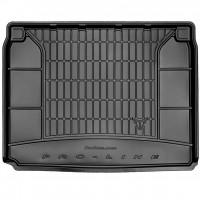Коврик в багажник для Renault Kadjar '15-, верхний, резиновый, черный (Frogum)
