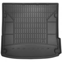 Коврик в багажник для Audi Q7 '05-14, резиновый, черный (Frogum)