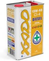 XADO Atomic Oil 15W-40 CI-4 Diesel (ж/б 4 л)