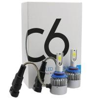 Автомобильные светодиодные лампочки C6 HВ3 36W (комплект: 2 шт)