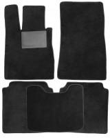 Коврики в салон для Mercedes S-class W220 '98-05 Long, текстильные, черные (Optimal)