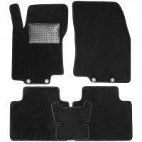 Коврики в салон для Nissan X-Trail (T32) '14-, текстильные, черные (Optimal)