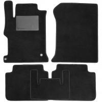 Коврики в салон для Honda Accord 9 '16-, амер. версия, текстильные, черные (Optimal)