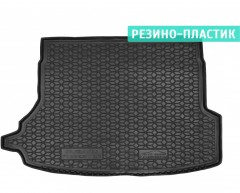 Коврик в багажник для Subaru Forester '19- с сабвуфером, резино-пластиковый (AVTO-Gumm)