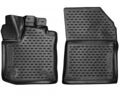 Коврики в салон для Renault Dokker '18-, полиуретановые, черные (Novline / Element)