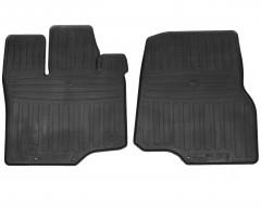 Фото 1 - Коврики передние в салон для Ford F-150 '14- резиновые (Stingray)