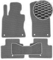 Коврики в салон для Infiniti Q50 '14-, EVA-полимерные, серые (Kinetic)