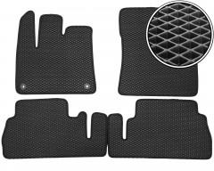 Kinetic Коврики в салон для Citroen Berlingo '19-, с подлокотником, EVA-полимерные, черные (Kinetic)