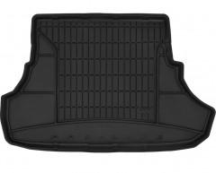 Коврик в багажник для Mitsubishi Lancer X '07- седан, резиновый, черный (Frogum)
