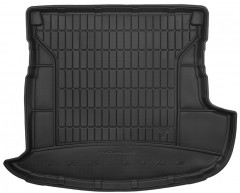 Frogum Коврик в багажник для Mitsubishi Outlander '12- (без органайзера) с сабвуфером, резиновый, черный (Frogum)