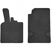 Коврики в салон для Mercedes Smart Fortwo '08-14 резиновые, черные (Frogum)