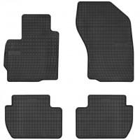 Коврики в салон для Peugeot 4007 '07-12 резиновые, черные (Frogum)