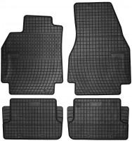 Коврики в салон для Renault Megane '02-08 резиновые, черные (Frogum)