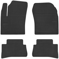 Коврики в салон для Toyota C-HR '16- резиновые, черные (Frogum)
