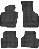 Коврики в салон для Volkswagen Passat CC '09-16 резиновые, черные (Frogum)