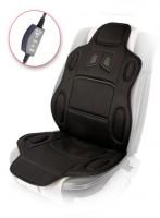Накидка на сиденье с подогревом H 19002 BK (115x49см) с регулятором нагрева
