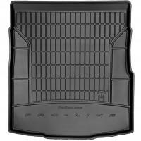 Коврик в багажник для Volkswagen Passat B8 '15- седан, резиновый, черный (Frogum)