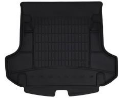 Коврик в багажник для Renault Logan '13- MCV (универсал), резиновый, черный (Frogum)