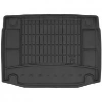 Коврик в багажник для Kia Ceed '19- хэтчбек, нижняя полка, резиновый, черный (Frogum)