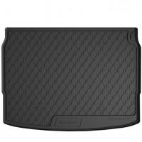 Коврик в багажник для Nissan Qashqai '14-, резиновый, черный (GledRing)