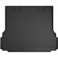 Коврик в багажник для BMW 5 G31 '17- универсал, резиновый, черный (GledRing)