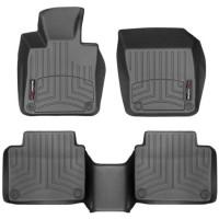 Коврики в салон для Volvo S90 '16-, черные, резиновые 3D (WeatherTech)