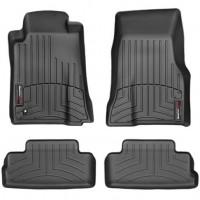 Коврики в салон для Ford Mustang '05-12, черные, резиновые 3D (WeatherTech)