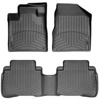 Коврики в салон для Nissan Murano '08-, черные, резиновые 3D (WeatherTech)