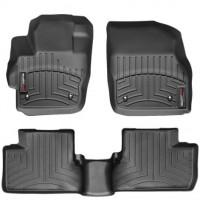 Коврики в салон для Mazda 3 '09-13, черные, резиновые 3D (WeatherTech)