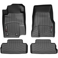 Коврики в салон для Ford Mustang '12-14, черные, резиновые 3D (WeatherTech)