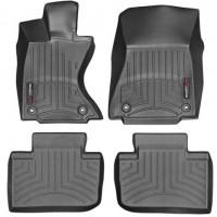 Коврики в салон для Lexus IS '13-, 4WD, черные, резиновые 3D (WeatherTech)