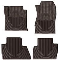 Коврики в салон для BMW X3 F25 '10-17, коричневые, резиновые (WeatherTech)