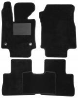 Коврики в салон для Toyota RAV4 '19-, Hybrid, текстильные, черные (Optimal)