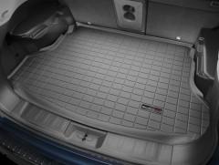 Коврик в багажник для Nissan X-Trail (T32) '17-, верхний, резиновый, черный (Weathertech)