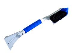 Щетка со скребком метало-пластиковая Pingwin