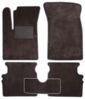 Коврики в салон для Chevrolet Aveo 04-11, текстильные, серые (Optimal)