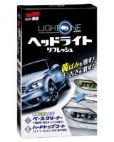 Набор для воcстановления и защиты пластиковых фар SOFT99 03133 G'ZOX  Light One