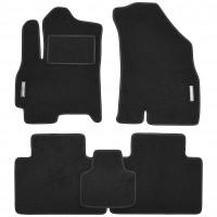 Коврики в салон для Chery Tiggo 4 '17- текстильные, черные (Стандарт)