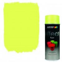 Аэрозольная флуоресцентная эмаль Motip Deco Effect желтая