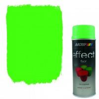 Аэрозольная флуоресцентная эмаль Motip Deco Effect зеленая