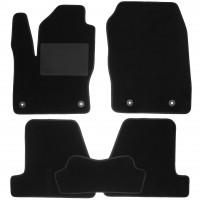 Коврики в салон для Ford Focus III '11-, текстильные, черные (Optimal)