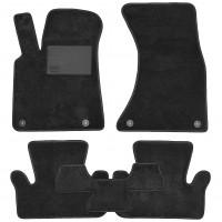 Textile-Pro Коврики в салон для Audi Q5 '08-17, текстильные, черные (Optimal)