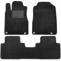 Коврики в салон для Honda CR-V '12-17, текстильные, черные (Optimal)
