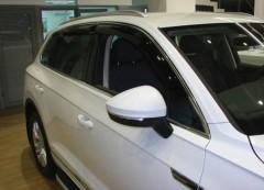 Дефлекторы окон для Volkswagen Touareg '18- (Sim)