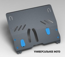 Защита картера двигателя для Mitsubishi Outlander '12- (2мм) 2.0, 2.4, 3.0, АКПП